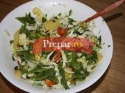 Salata cu fasole verde si cartofi