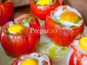 Rosii umplute cu oua