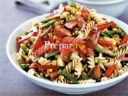 Salata  de legume cu macaroane