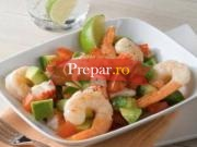 Salata dietetica de creveti