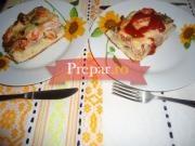 Pizza cu afumaturi si ciuperci