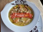 Supa de midii (scoici,stridii)